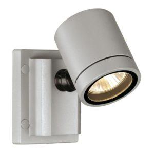 Éclairage interieur -New Myra Wall applique 1x max. 50W Gu10 230V orientable IP55 gris argent