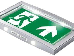 Éclairage de sécurité -Serenga frame pictogramme double face 340x205x34
