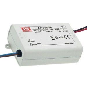 Accessoires -Alimentation LED 24VDC 25W IP30