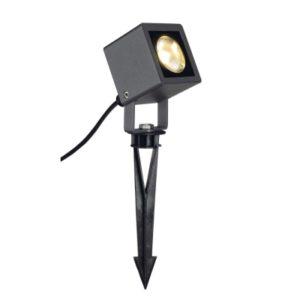 Éclairage extérieur -SMALL SQUARE LED spot light, carré, anthracite, 6W, 3000K