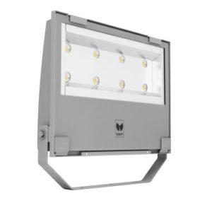 Éclairage extérieur -GUELL 3 Projecteur Symétrique Wide Beam 293W 4000K Gris