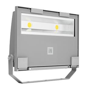 Éclairage extérieur -GUELL 2 Projecteur Symétrique Wide Beam 78W 4000K Gris