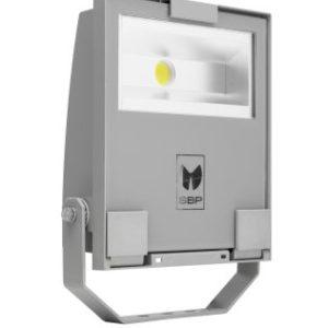 Éclairage extérieur -GUELL 1 Projecteur Symétrique Wide Beam 30W 3000K Gris