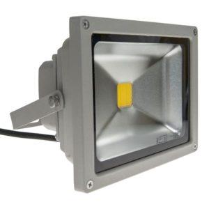 Éclairage extérieur -LED Floodlight Grey 100-240V 20W 3000K