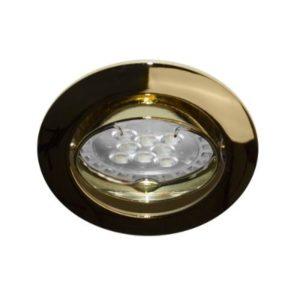 Éclairage interieur -KS1012 GU10 AUTO 50W PAR16-230V V:30° Dore