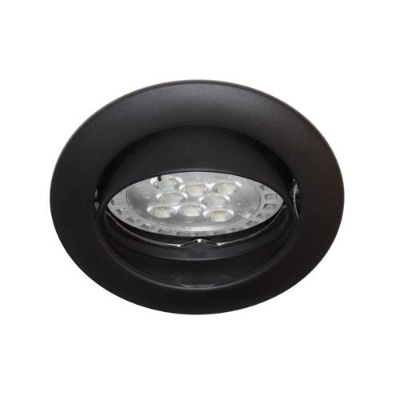 Éclairage interieur -KS1012 GU10 AUTO 50W PAR16-230V V:30° Noir