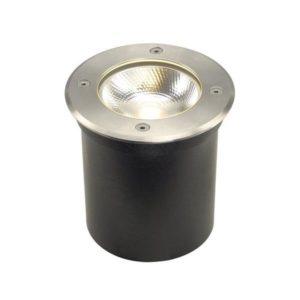 Éclairage extérieur -ROCCI, encastré de sol, rond, Inox 316, LED