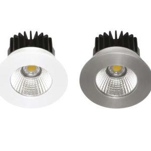 Éclairage interieur -INDAL spot encastré LED IP65 6W 650Lm 3000K Alu + driver