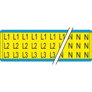 Éclairage de sécurité -Indication de phases