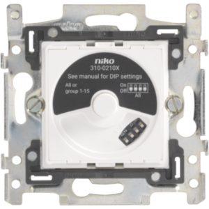 Gestion d'éclairage -Socle pour DALI-gradateur rotatif