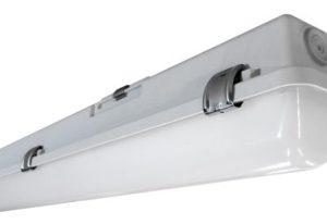 Éclairage interieur -Luminaire étanche méthacrylate LED 32W 4000K 3500lm 1500mm IP65 clips INOX