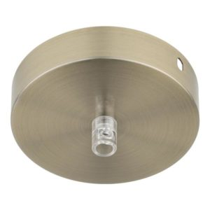 Accessoires -Ceiling Cup Metal bronz ant+tr cord grip
