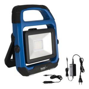 Éclairage spécial -RoBust LED lampe chantier 20W 4000K 1600lm DIM accu USB IP44 chargeurs 12/230V