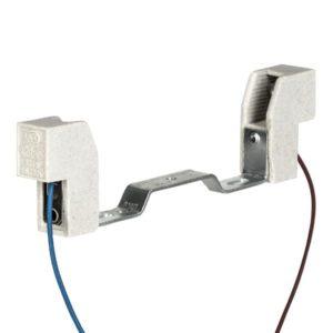 Accessoires -douille R7s céramique 118MM 6A 250V T250 250mm câble 0.75mm2