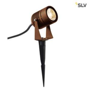 Éclairage extérieur -Spot outdoor sur piquet LED Spike rouille IP55 3000K 40°