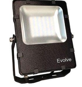 Éclairage extérieur -Projecteur Evolve SMD 24W 4000K noir 3000lm noir