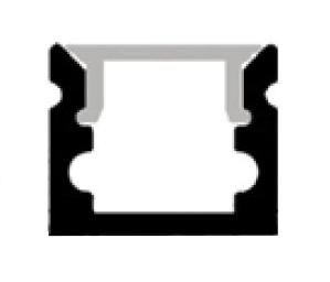 Accessoires -Profile led pliable SLB10 en aluminium anodisé AL6063. Kit complet avec profile