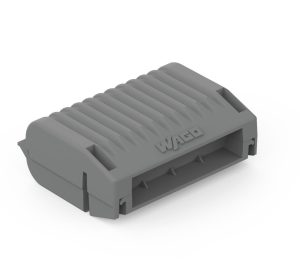 Bornes -Gelbox type2, Série 221 4mm2, 2273,sans connecteur, gris