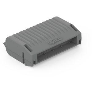Bornes -Gelbox type3, Série 221 4mm2, 2273,  sans connecteur,gris
