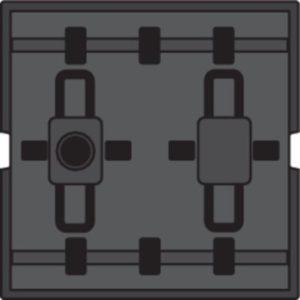 Domotique -Poussoir câble-bus avec 4 commandes