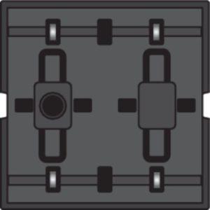 Domotique -Poussoir câble-bus avec 4 commandes + 4 LED's
