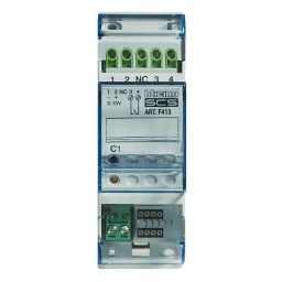 Domotique -My Home - interface 1-1V pour ballast - 2 modules DIN