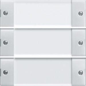 Domotique -Touche triple Système 55 blanc
