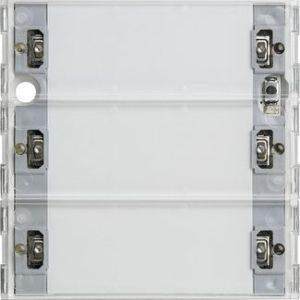 Domotique -KNX Bouton-poussoir Tastsensor 3 Komfort triple Système 55