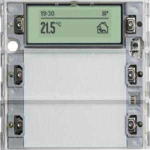 Domotique -Bouton-poussoir Tastsensor 3 Plus double Système 55