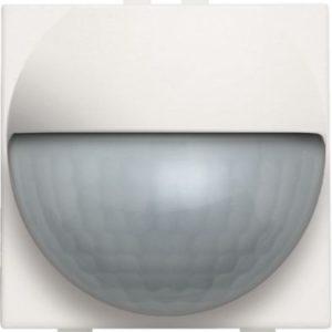 Domotique -Home Control plaque centrale détecteur de mouvement enc. 180°, Original blanc