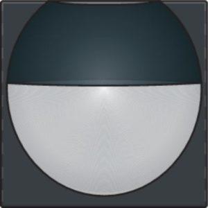 Domotique -Home Control plaque centrale détecteur de mouvement enc. 180°, anthracite