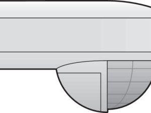 Domotique -Home Control détecteur de mouvement extérieur 180° / 0-14m