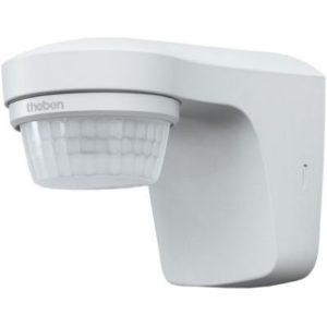 Détecteurs de présence / mouvement -Détect. mouvement extérieur BLANC apparent 180° 1 can. 12m IP55 200W LED