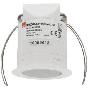 Détecteurs de présence / mouvement -Détecteur de présence PD11-maître, portée Ø 9m, lentille plate, faux plafond