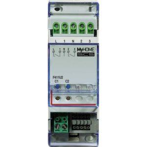Domotique -MH - actuator 2 relais - 2 modules - 6A