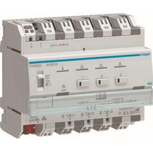 Domotique -Module de sorties pour l'éclairage variable - 3 sorties directes 300W