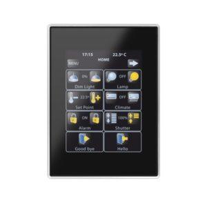 Domotique -Touch Panel Z41 Pro aluminium frame