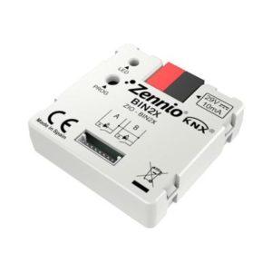 Domotique -Binaire module - 2 binaire inputs / LED