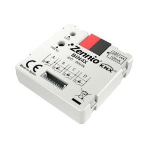 Domotique -Binaire module - 4 binaire inputs / LED
