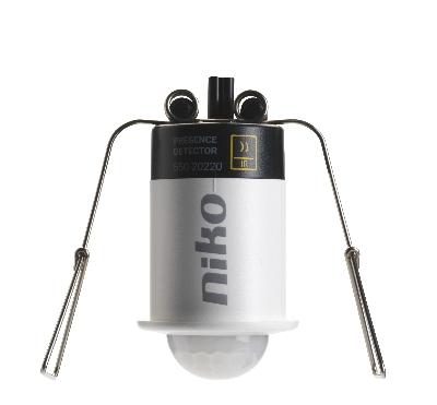 Domotique -Mini détecteur 360° pour Niko Home Control