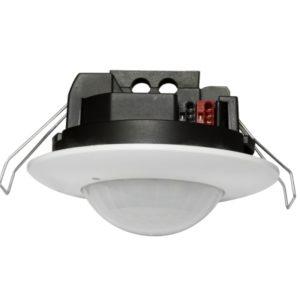 Domotique -Détecteur de présence PD2, KNX, deluxe, portée Ø10m, faux plafond