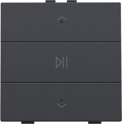Domotique -Commande audio pour Niko Home Control, anthracite
