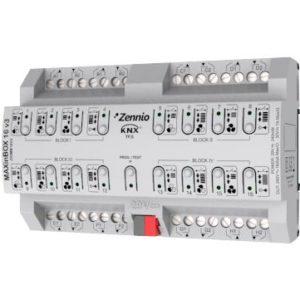 Domotique -Actionneur multifonctionel 16 sorties ZENNIO MAXinBOX 16 v3