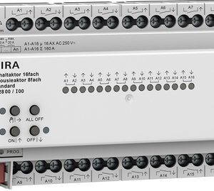 Domotique -Act. commut./store 16x/8x 16 A rDIN Std KNX Secure