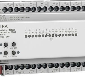Domotique -Act. commut./store 16x/8x 16A rDIN Kmf KNX Secure