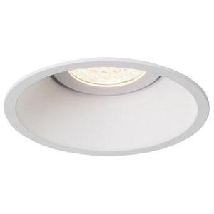 Éclairage interieur -TETIZ deep - encastré - GU10 - alu / plexi - max 50W - 100mm x 45mm- blanc