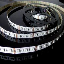 Éclairage interieur -RGB LED Strip - 12VDC - 14,4w/m - 500lm/m - IP20 - 5050smd - par 10cm
