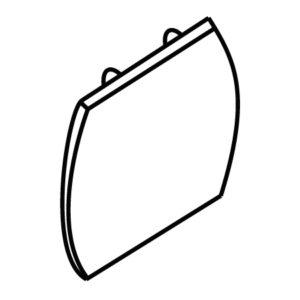 Accessoires -TRACK 3-phase termination - noir