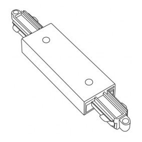 Accessoires -TRACK 2-phase connecteur - noir