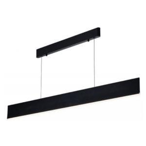 Éclairage interieur -PURE pendule longue - 26W - alu - 1820lm - 3000K - 1200mm x 1200mm - noir mat